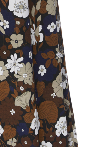 Side Button Palazzo Pant by MICHAEL KORS COLLECTION for Preorder on Moda Operandi