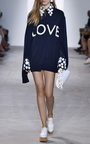 Embroidered  Collar And Cuff Button Down Shirt by MICHAEL KORS COLLECTION for Preorder on Moda Operandi