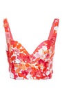 Embroidered Bralette by MICHAEL KORS COLLECTION for Preorder on Moda Operandi