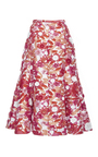 Floral Embroidered Trumpet Skirt by MICHAEL KORS COLLECTION for Preorder on Moda Operandi