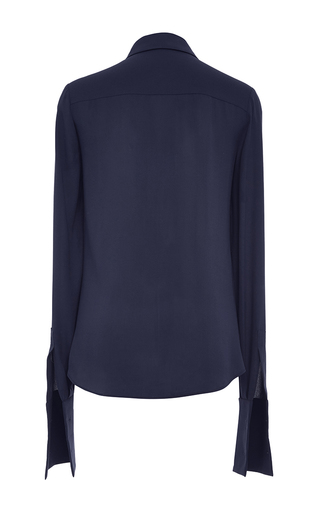 Neck Tie French Cuff Shirt by MICHAEL KORS COLLECTION for Preorder on Moda Operandi