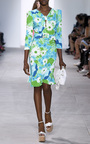 Strong Shoulder Belted Dress by MICHAEL KORS COLLECTION for Preorder on Moda Operandi