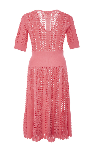 Hand Crochet Dress by MICHAEL KORS COLLECTION for Preorder on Moda Operandi