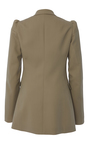 Button Sleeve Double Breasted Jacket by MICHAEL KORS COLLECTION for Preorder on Moda Operandi