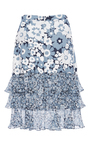 Embroidered Ruffle Skirt by MICHAEL KORS COLLECTION for Preorder on Moda Operandi