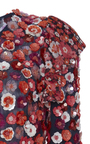 Maritime Embroidered Bias Ruffle Dress by MICHAEL KORS COLLECTION for Preorder on Moda Operandi