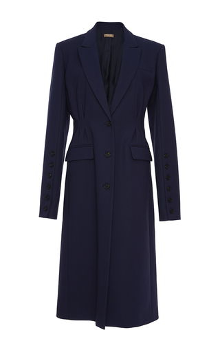 Button Sleeve Belted Coat by MICHAEL KORS COLLECTION for Preorder on Moda Operandi