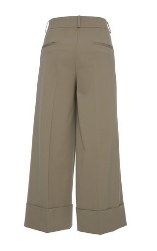 Sand Cuffed Gaucho by MICHAEL KORS COLLECTION for Preorder on Moda Operandi