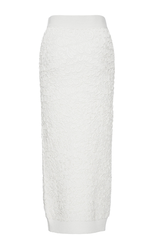 Soutache Embroidered Pencil Skirt by MICHAEL KORS COLLECTION for Preorder on Moda Operandi