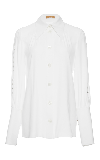 Button Cuff Blouse by MICHAEL KORS COLLECTION for Preorder on Moda Operandi