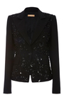 Embroidered Dinner Jacket  by MICHAEL KORS COLLECTION for Preorder on Moda Operandi