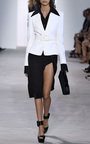Black French Cuff Shirt by MICHAEL KORS COLLECTION for Preorder on Moda Operandi