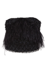 Lace Feather Embroidered Bustier by SALLY LAPOINTE for Preorder on Moda Operandi