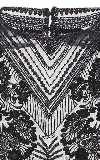 Floral Lace Embroidered Bodysuit by SALLY LAPOINTE for Preorder on Moda Operandi