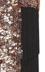 Fringe Detail Scalloped Beaded Skirt by SALLY LAPOINTE for Preorder on Moda Operandi