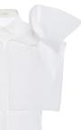 Short Sleeve Poplin Top by DELPOZO for Preorder on Moda Operandi