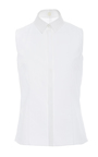 Sleeveless Collared Shirt by DELPOZO for Preorder on Moda Operandi