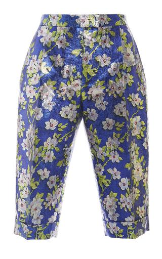 Medium delpozo print floral bermuda shorts