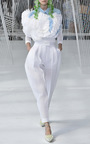 High Waisted Pleated Trousers by DELPOZO for Preorder on Moda Operandi
