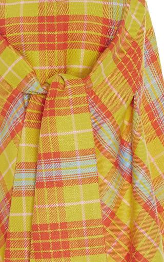 Sleeveless Checkered Jacket by DELPOZO for Preorder on Moda Operandi