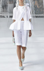Crossed Poplin Shirt by DELPOZO for Preorder on Moda Operandi