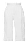 High Waisted Bermuda Shorts by DELPOZO for Preorder on Moda Operandi