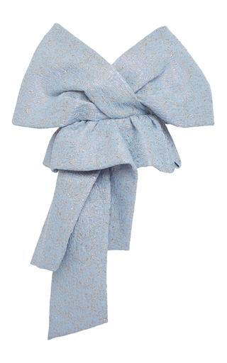Medium delpozo multi knot front shawl jacket
