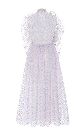 Textured Frill Front Dress by DELPOZO for Preorder on Moda Operandi