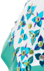 Sleeveless Embellished A Line Dress by DELPOZO for Preorder on Moda Operandi