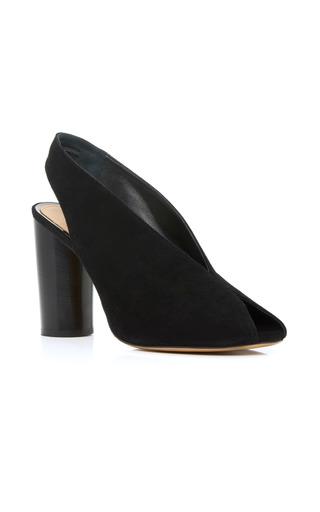 Medium isabel marant black meirid slingback sandals