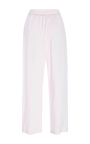 Easy Lavender Draped Linen Pants by MARA HOFFMAN for Preorder on Moda Operandi