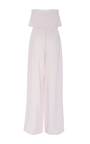Strapless Linen Jumpsuit by MARA HOFFMAN for Preorder on Moda Operandi