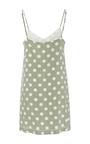 Polka Dot Mini Dress by MARA HOFFMAN for Preorder on Moda Operandi