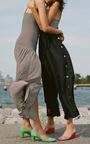 Striped Body Suit by MARA HOFFMAN for Preorder on Moda Operandi
