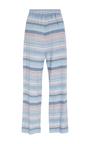 Easy Multi Draped Linen Pants by MARA HOFFMAN for Preorder on Moda Operandi