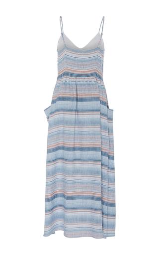 Striped Pockets Dress by MARA HOFFMAN for Preorder on Moda Operandi