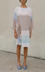 Colorblock Tunic Dress by MARA HOFFMAN for Preorder on Moda Operandi