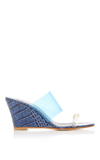 Olympia Wedge by MARYAM NASSIR ZADEH for Preorder on Moda Operandi
