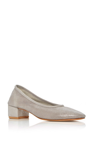 Medium maryam nassir zadeh silver roberta pump