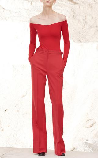 Hobbs Off The Shoulder Bodysuit by GABRIELA HEARST for Preorder on Moda Operandi