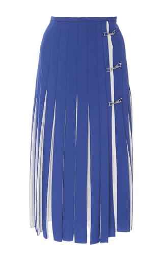 Hekate Pleated A Line Skirt by GABRIELA HEARST for Preorder on Moda Operandi