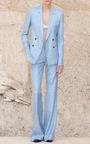 Gaia V Neck Bralette by GABRIELA HEARST for Preorder on Moda Operandi