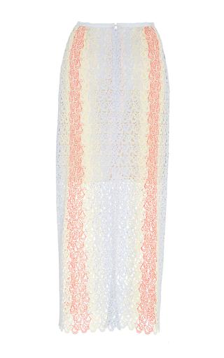 Monique Lace Skirt by GABRIELA HEARST for Preorder on Moda Operandi