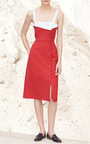 Isobel Knee Length Dress by GABRIELA HEARST for Preorder on Moda Operandi