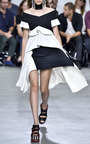 Pleated Crepe Off The Shoulder Top by PROENZA SCHOULER for Preorder on Moda Operandi