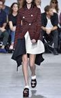 Double Breasted Striped Blazer by PROENZA SCHOULER for Preorder on Moda Operandi