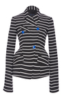 Double Breasted Striped Blazer by PROENZA SCHOULER for Preorder on Moda Operandi