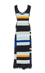 Striped Crochet Tank Dress by PROENZA SCHOULER for Preorder on Moda Operandi