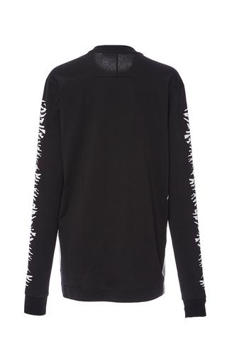 Long Sleeve Printed T Shirt by PROENZA SCHOULER for Preorder on Moda Operandi