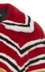 Long Intarsia Mink Coat by PROENZA SCHOULER for Preorder on Moda Operandi